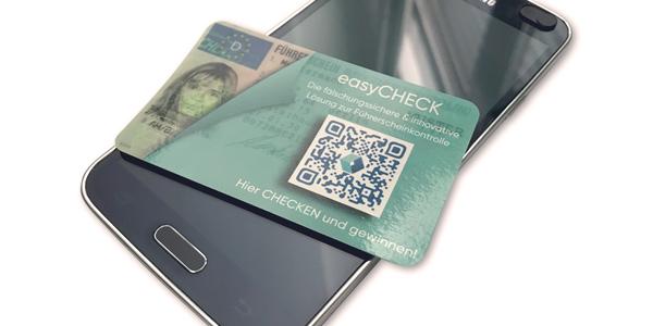 """easyCHECK""- das Neuprodukt des Hamburger Digital-Start-ups Kroschke Digital"